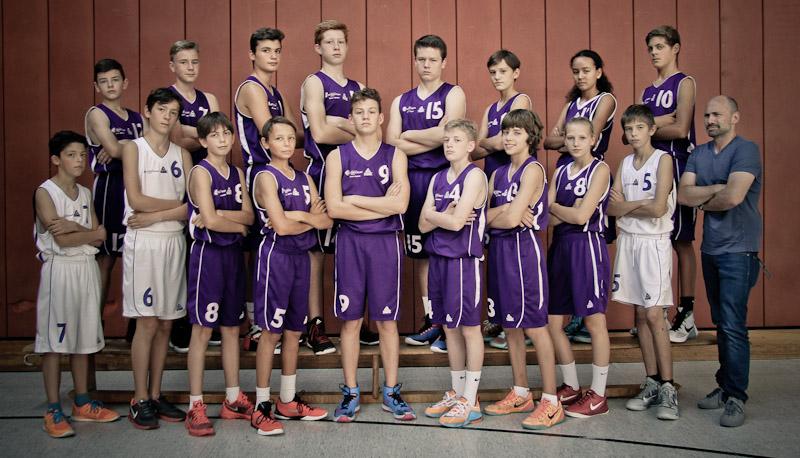 Teamfoto U14.1 Saison1516 final
