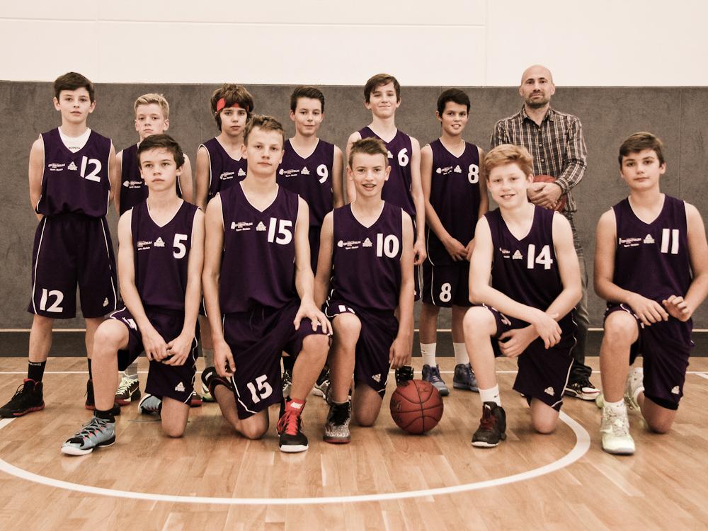 Teamfoto U14.1 Saison1415 final