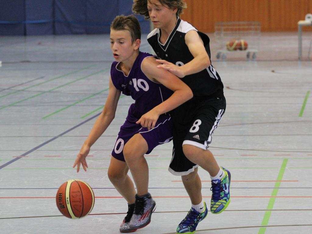 Basketball Turnier Brühler TV U14_Juni2014_01