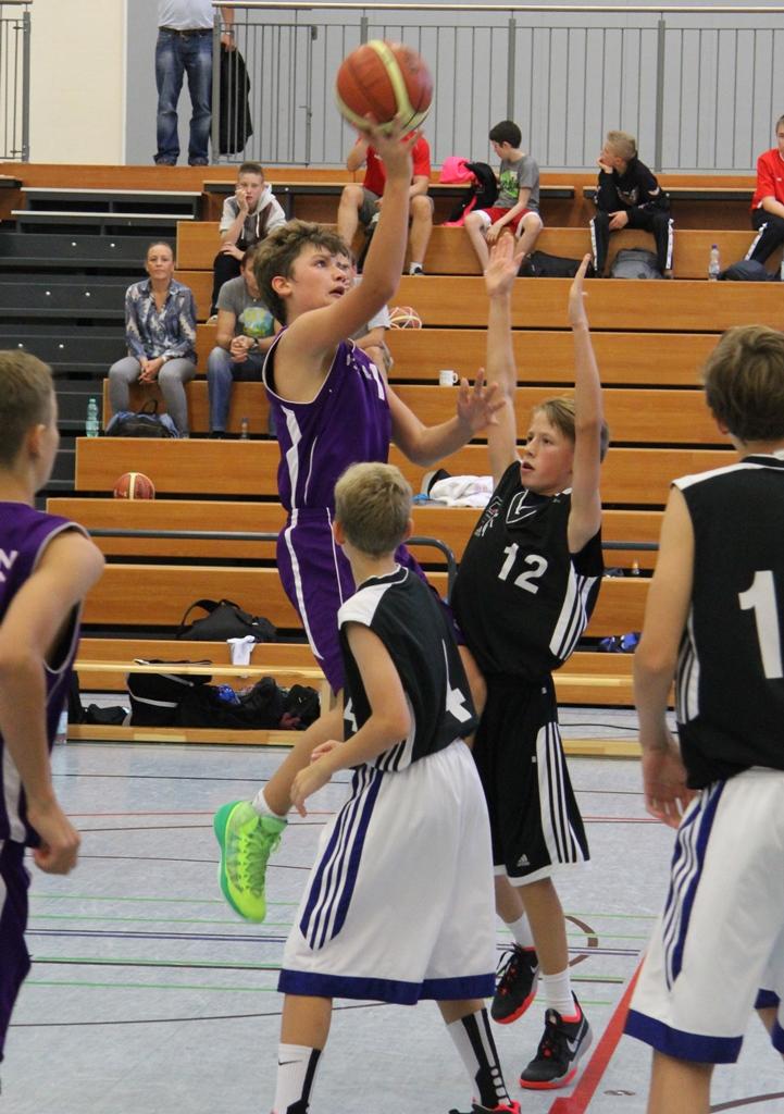 Basketball Turnier Brühler TV U14_Juni2014_02