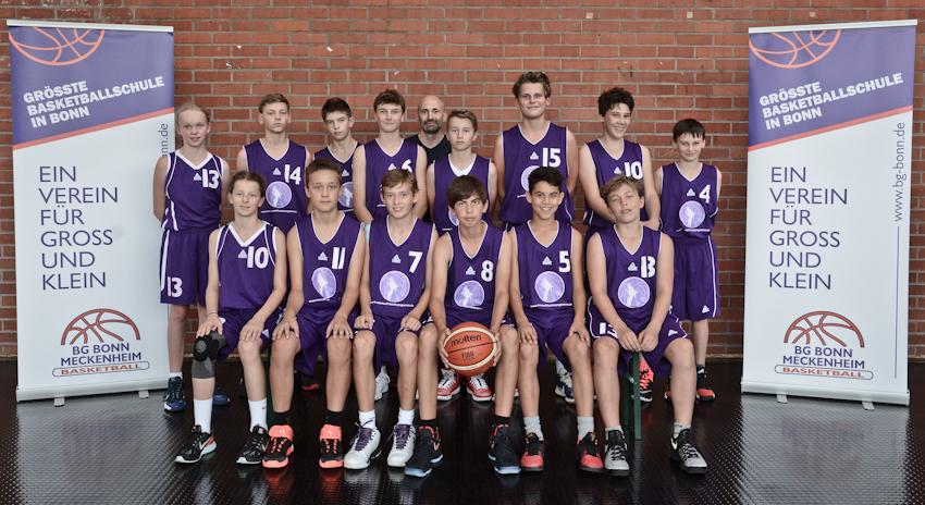 Teamfoto U14.1 Saison1617 final