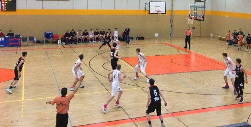 treffer beim basketball